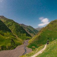 Bikepacking cez část Kaukazu