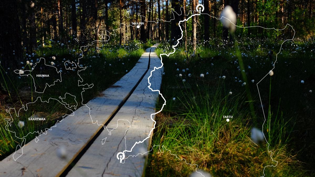 Estonsko: Oandu-Ikla trail