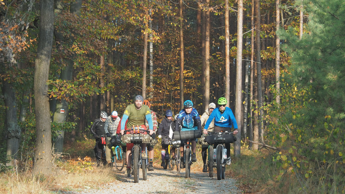 Bikepacking meeting