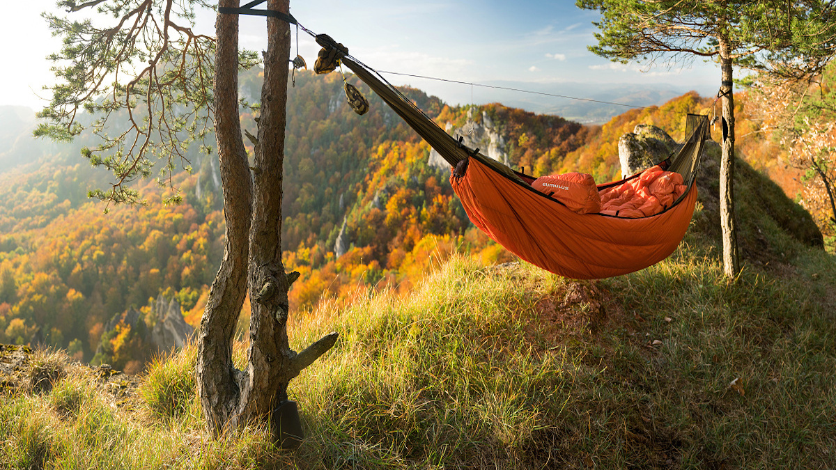 Warming the hammock or what you learn in youth you find in old age
